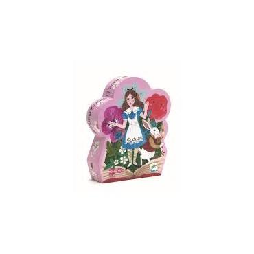 Puzzle 50 pièces : Alice au pays des merveilles - Djeco - Trésors d'Enfance à Rodez