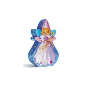 Puzzle 36 pièces : Le fée et la licorne - Djeco Trésors d'Enfance à Rodez