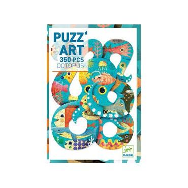 Puzzle Art 350 pièces : Octopus - Djeco - Trésors d'Enfance à Rodez