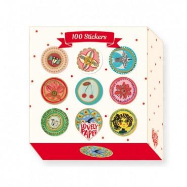 Stickers : 100 stickers...