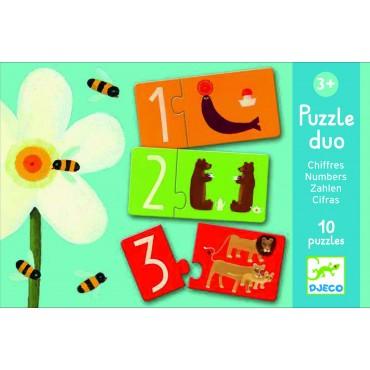 Puzzle Duo - Les chiffres