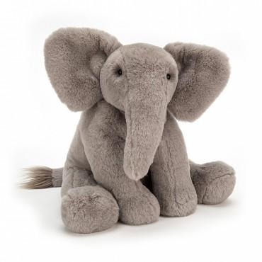 Peluche Éléphant : Emilie - Jellycat - Trésors d'Enfance à Rodez