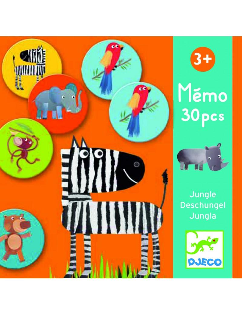 Mémo Jungle - Djeco - Trésors d'Enfance à Rodez