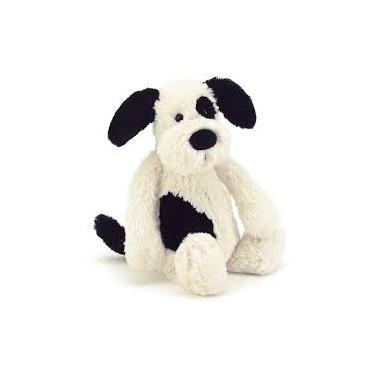 Bashful Black & Cream Puppy Medium - Jellycat