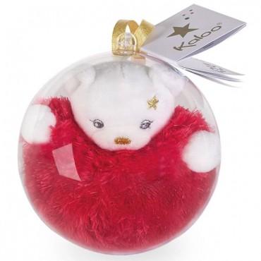 Boule de Noël : Mini Ours doré - Kaloo - Trésors d'Enfance