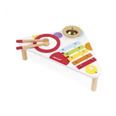 Table musicale Confetti - Janod - Trésors d'Enfance à Rodez