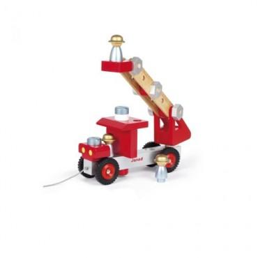 Camion de Pompiers - Janod - Trésors d'Enfance à Rodez