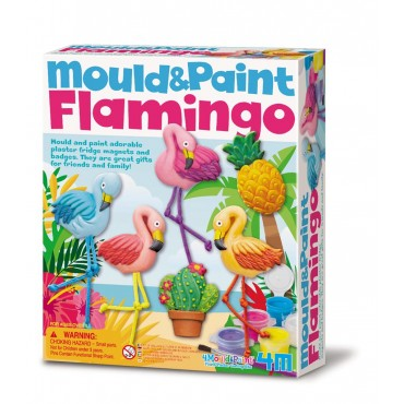 Kit de Moulage Flamingo - 4M - Trésors d'Enfance à Rodez