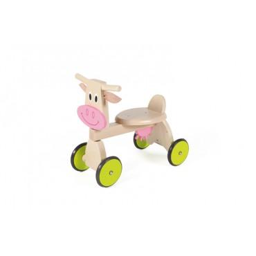Porteur Vache Marie - Scratch - Trésors d'Enfance à Rodez-jeux-jouets