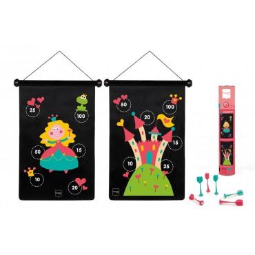Jeu de fléchettes magnétiques Princesses - Scratch - Trésors d'Enfance à Rodez