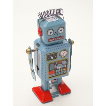 Robot à Remonter - Bass et Bass - Trésors d'Enfance à Rodez