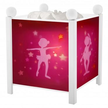 Lanterne Magique : Ballerine Blanc - Trousselier - Trésors d'Enfance à Rodez