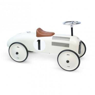 Porteur Voiture Vintage en métal Beige - Vilac - Trésors d'Enfance à Rodez