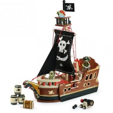 Ô mon bateau pirate - Vilac - Trésors d'Enfance à Rodez
