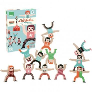 Les Acrobates par Ingela P.Arrhenius - Vilac - Trésors d'Enfance à Rodez