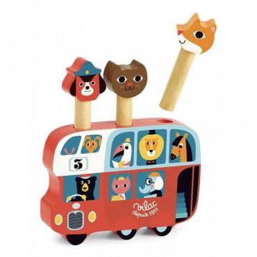 Pop-up Autobus par Ingela P. Arrhenius - Vilac- Trésors d'Enfance à Rodez