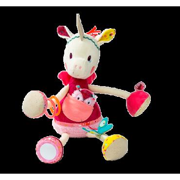 Louise la licorne Câline d'activité - Lillipuciens - Trésors d'Enfance à Rodez