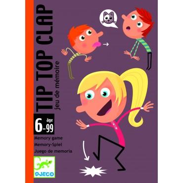 Jeu de cartes : Tip Top Clap - Djeco - Trésors d'Enfance à Rodez