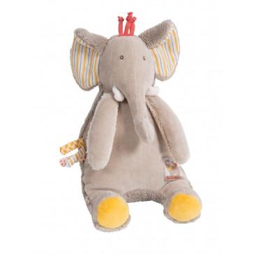 Poupée musicale Elephant -...