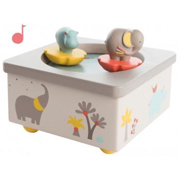 Boîte à musique - Les Papoums - Trésors d'Enfance à Rodez