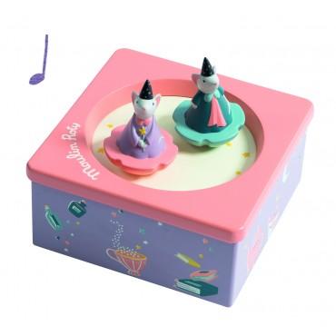 Boîte à musique - Il était une fois - Moulin Roty - Trésors d'Enfance à Rodez-bébé-cadeau-naissance-enfant-berceuse