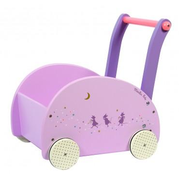 Chariot de marche - Il était une fois - Moulin Roty - Trésors d'Enfance à Rodez-bébé-cadeau-naissance-enfant