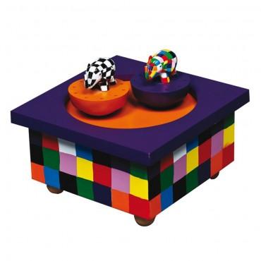 Boîte à Musique Magnétique : Elmer - Trousselier - Trésors d'Enfance à Rodez