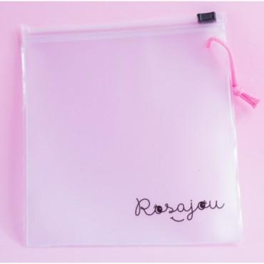 Pochette transparente - Rosajoue - Trésors d'Enfance à Rodez