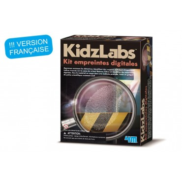Kit empreintes digitales - 4M - Trésors d'Enfance à Rodez