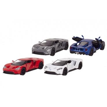 Véhicule Ford GT en métal 1:38 - KINSMART - Trésors d'enfance à Rodez