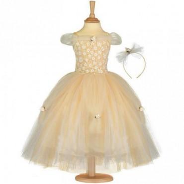Déguisement de princesse doré - Travis Design - Trésors d'Enfance à Rodez-jeux-jouets-cadeau-carnaval-déguisement fille