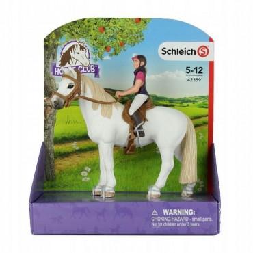 Cavalière amatrice avec cheval - Figurine Animal - Schleich - Trésors d'Enfance à Rodez