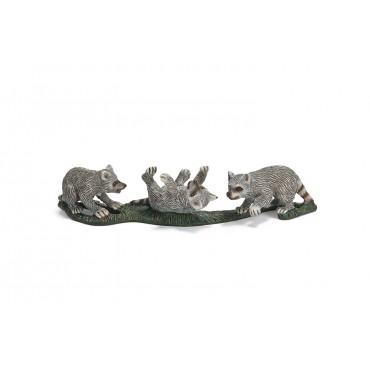 Bébés raton laveur - Figurine Animal - Schleich - Trésors d'Enfance à Rodez