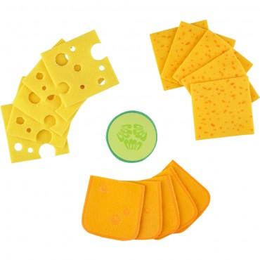Tranches de fromage - Haba - Trésors d'Enfance à Rodez
