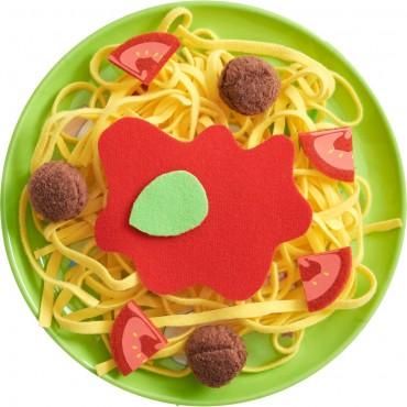 Assiette de spaghetti à la bolognaise - Haba - Trésors d'Enfance à Rodez