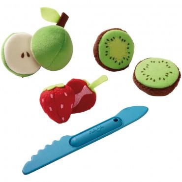 Assortiment de fruits à découper - Haba - Trésors d'Enfance à Rodez