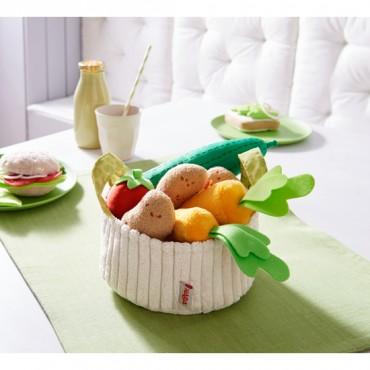 Panier de légumes en tissus...