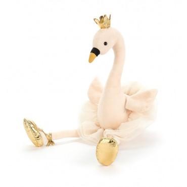 Peluche Cygne : Fancy Swan - Jellycat - Trésors d'Enfance à Rodez