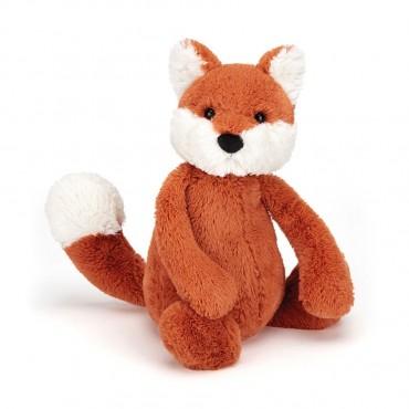 Peluche Renard 18 cm - Bashful Fox Club Medium - Jellycat - Trésors d'Enfance
