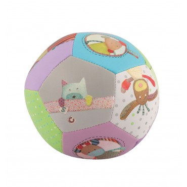 Ballon souple - Les Jolis Pas Beaux - Moulin Roty - Trésors d'Enfance à Rodez