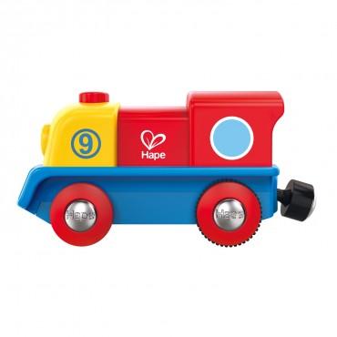 Petite locomotive à moteur - Hape - Trésors d'Enfance à Rodez