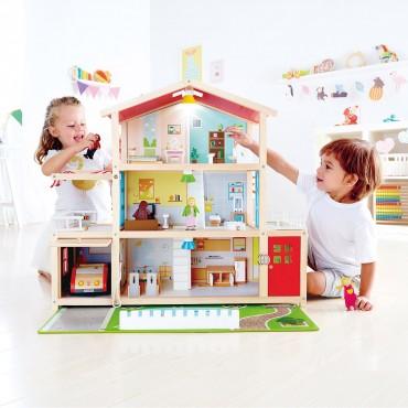 Maison de Poupée : Villa Moderne - Hape - Trésors d'Enfance à Rodez