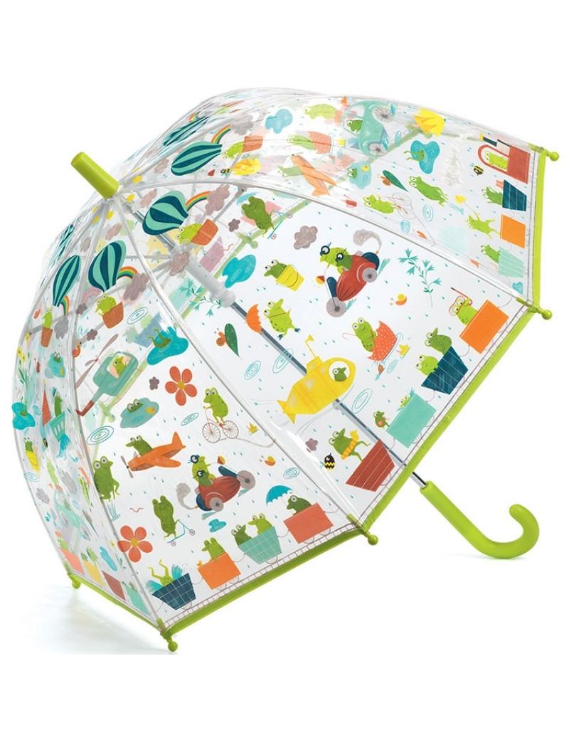 Parapluie : Grenouillettes  - Djeco - Trésors d'enfance en Aveyron