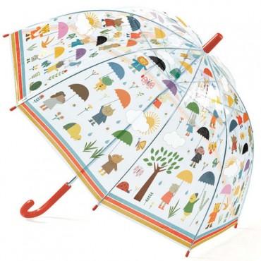 Parapluie : Sous la pluie - Djeco - Trésors d'enfance en Aveyron