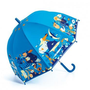 Parapluie : Monde marin -...