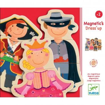 Jeu magnétique : Dress'up - Djeco - Trésors d'Enfance à Rodez