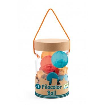 Perles à enfiler : Filacolor Ball - Djeco - Trésors d'Enfance à Rodez