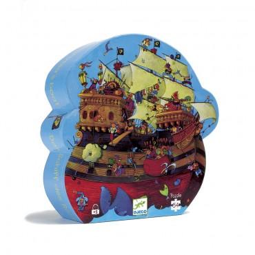 Puzzle 54 pièces - Bateau de Barberousse - Djeco - Trésors d'Enfance à Rodez