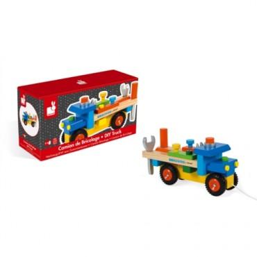 Camion Brico'Kids - Janod - Trésors d'Enfance à Rodez