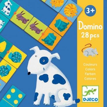 Domino : Couleurs Animaux - Djeco - Trésors d'Enfance à Rodez
